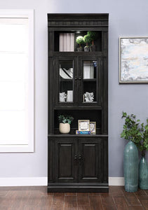 "WASHINGTON HEIGHTS 32"" GLASS DOOR CABINET"
