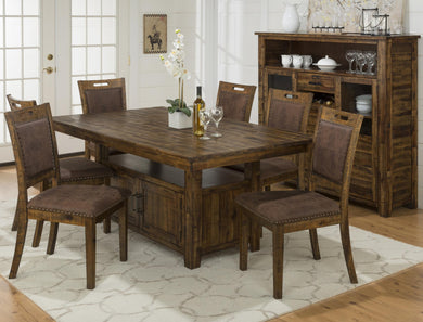 CANNON VALLEY 7PC HEIGHT DINING SET