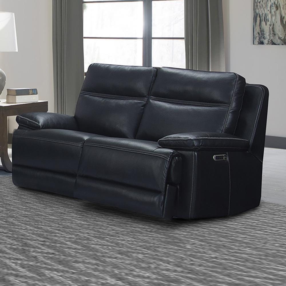 PARKER HOUSE PAXTON - NAVY Power Loveseat