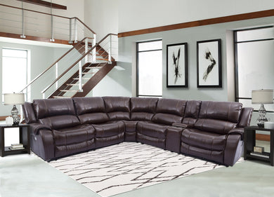 ULYSSES - CHESTNUT 6PC SECTIONAL