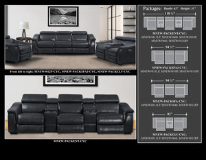 NEWTON - CYCLONE 6pc SECTIONAL