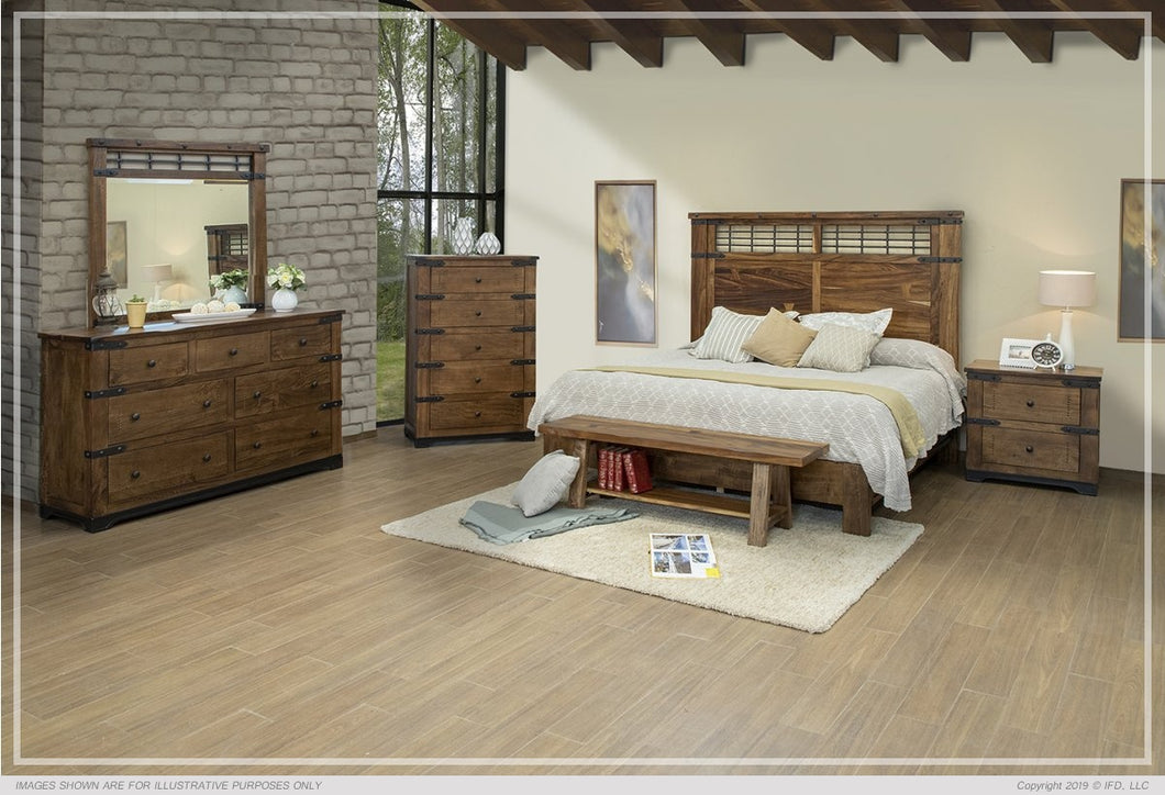 PAROTA 4PC KING BEDROOM SET