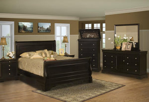 BELL ROSE 4PC QUEEN BEDROOM SET