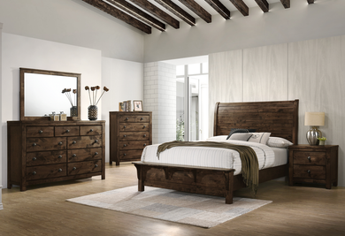 BLUE RIDGE 4PC KING BEDROOM SET