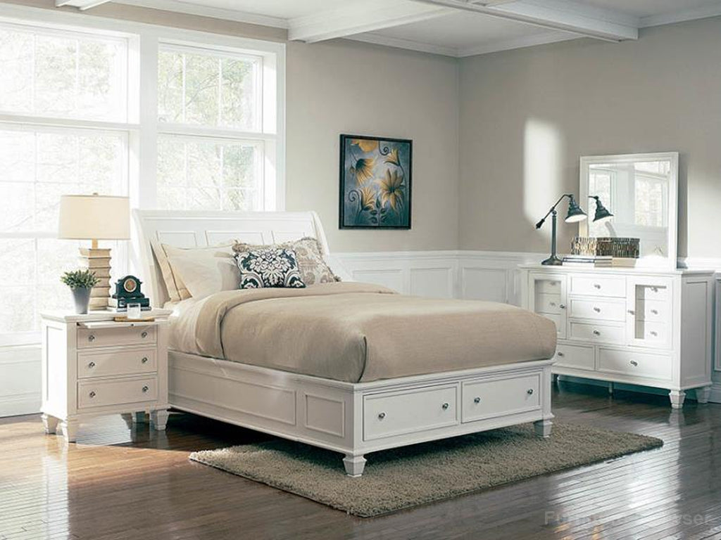 Sandy King Bed