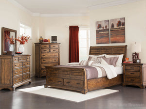 Elk King Bed