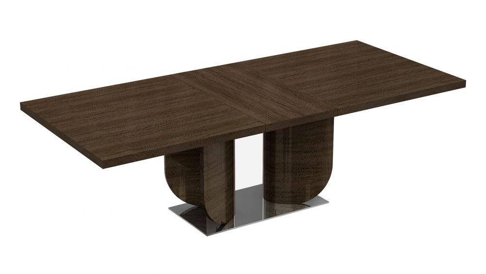 P115 DARK WALNUT FINISH DINING TABLE