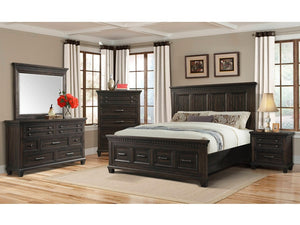 MCCABE COMPLETE KING BED WITH STORAGE
