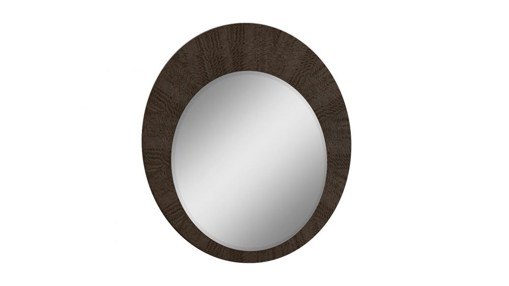 P115 DARK WALNUT FINISH MIRROR