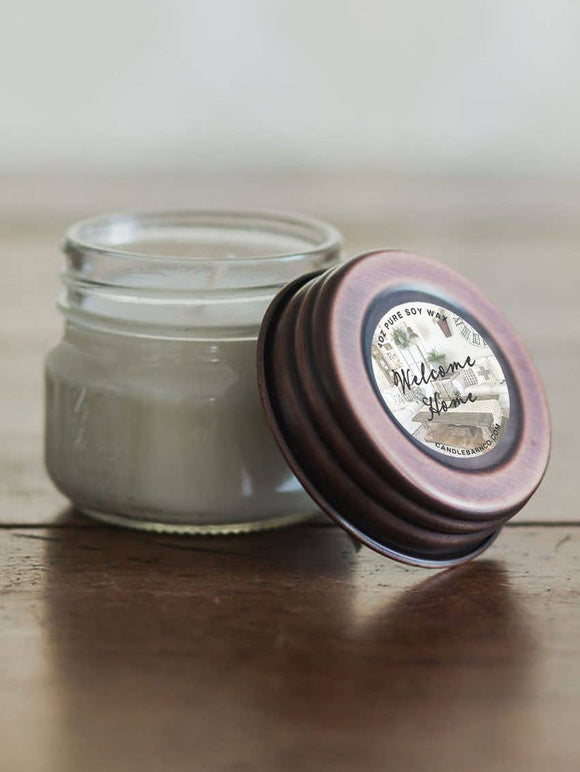 4oz Welcome Home Mason Jar Soy Candles