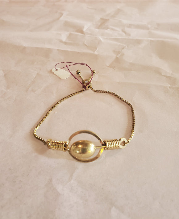 Crave Goldtone Circle