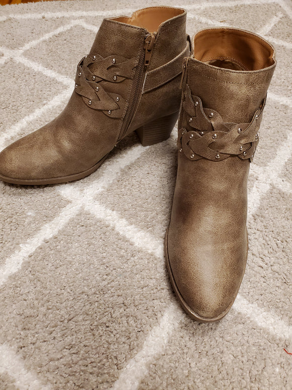 Morrison Taupe Bootie