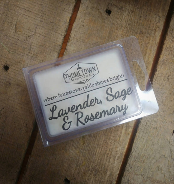 Lavender, Sage & Rosemary Wax Melt