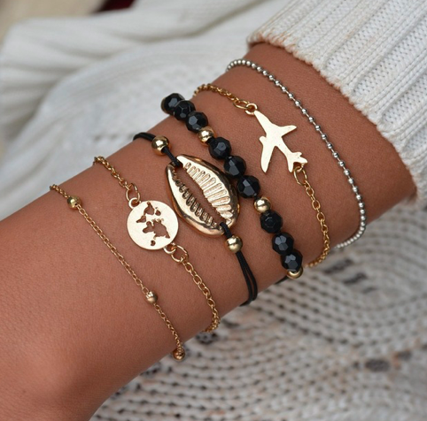 Away We Go Bracelet Set