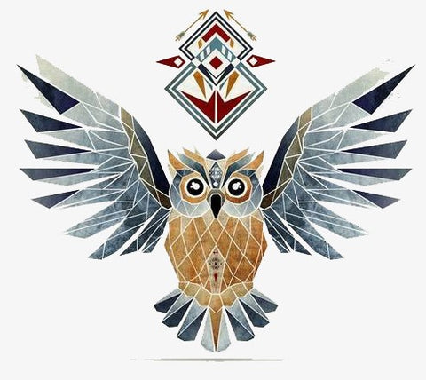 hibou animal totem majestueux