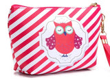 Trousse maquillage hibou ailes chouette