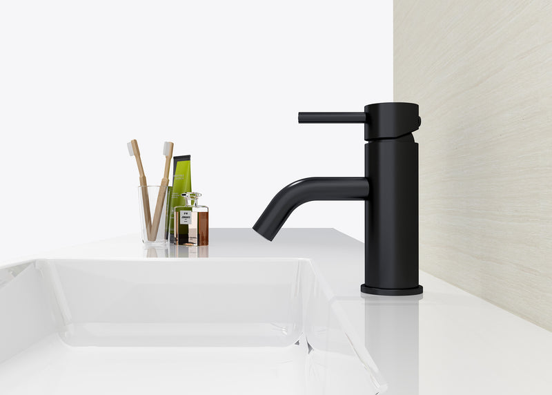 Dolce Basin Mixer Curved