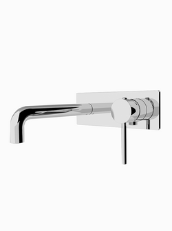 Dolce Wall Mixer Curved