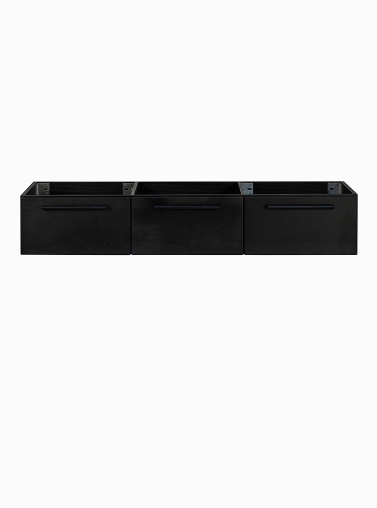Finlay 1500 Double Black Cabinet