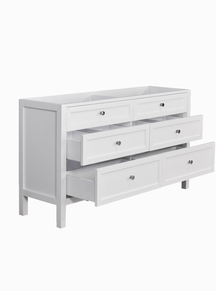 Hayley 1500 Double White Cabinet