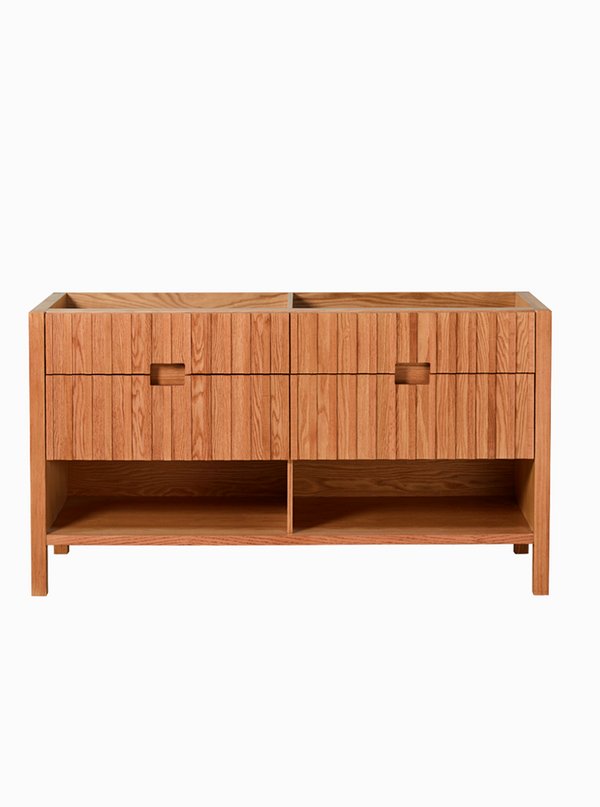 Mac 1500 Double Natural Freestanding Cabinet