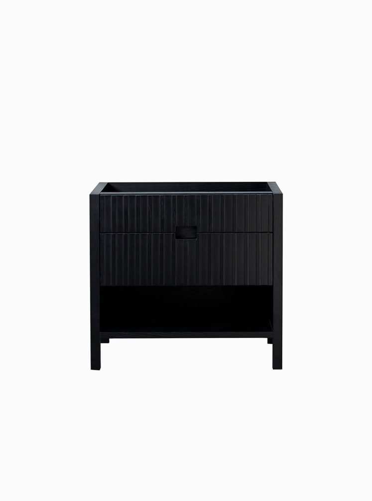 Mac 900 Japan Black Freestanding Cabinet