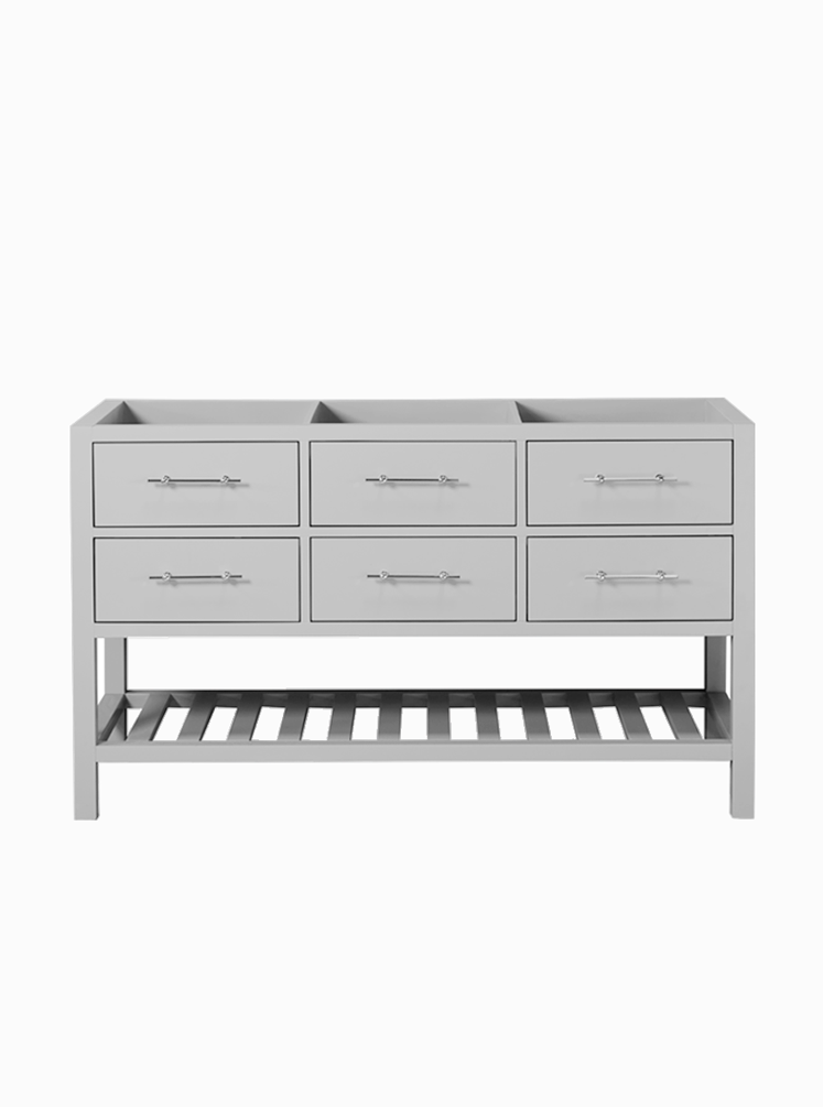 Montauk 1500 Double Hampton Grey Cabinet