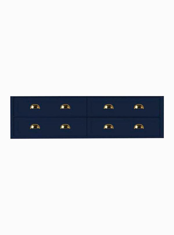 North Haven 1800 Double Navy Cabinet