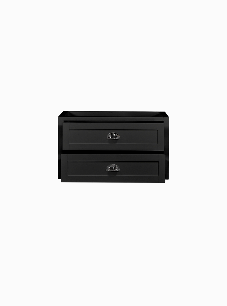 North Haven 900 Black Cabinet