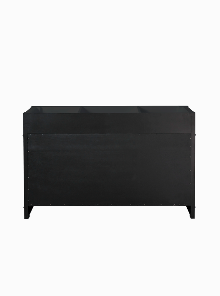 Wainscott 1400 SINGLE Black Cabinet