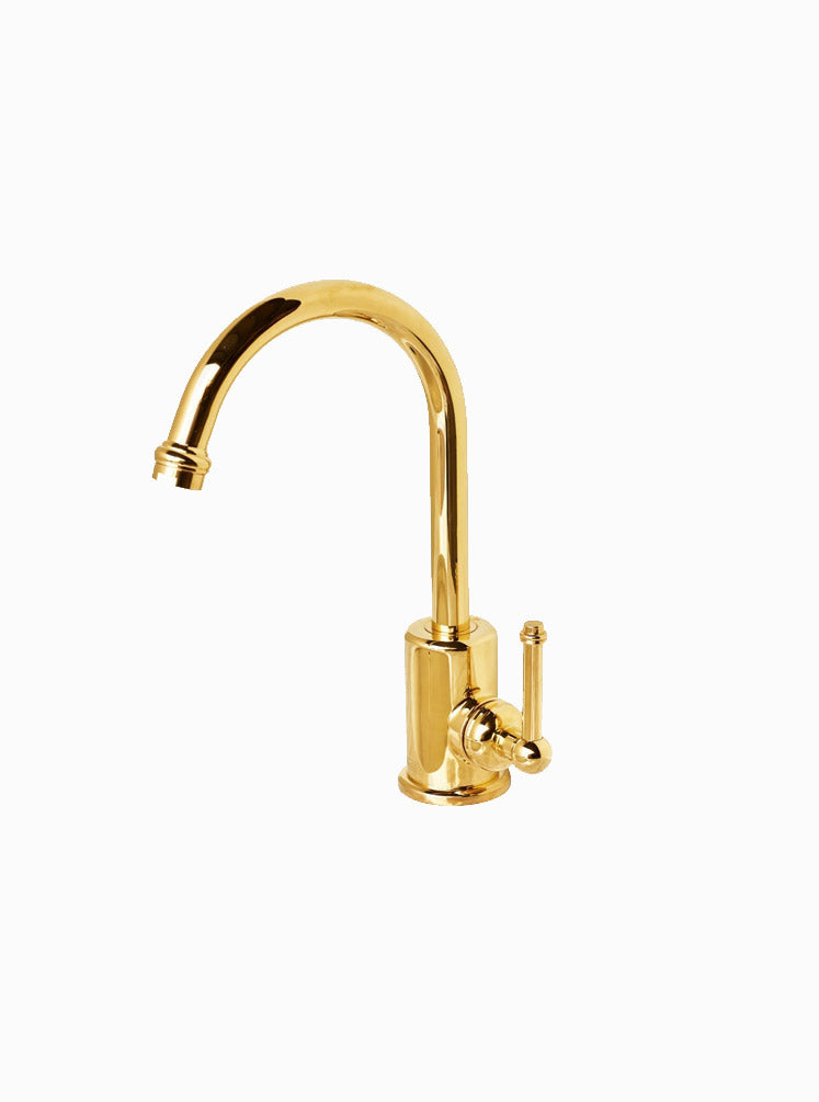 Federation basin mixer gold