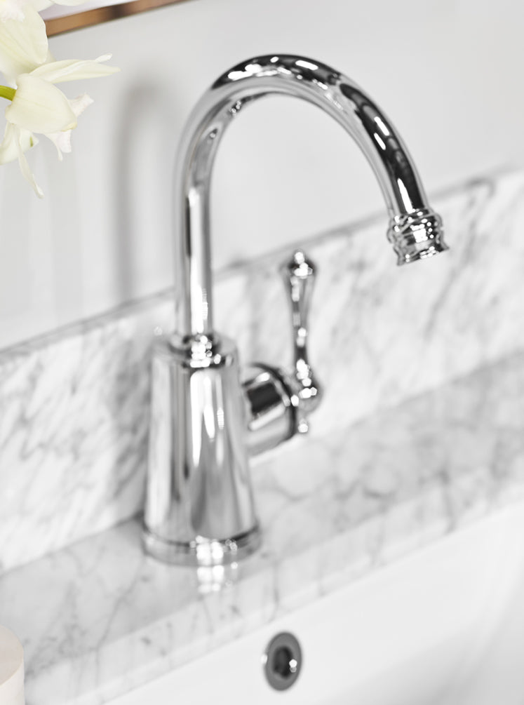 Georgian Basin Mixer Chrome