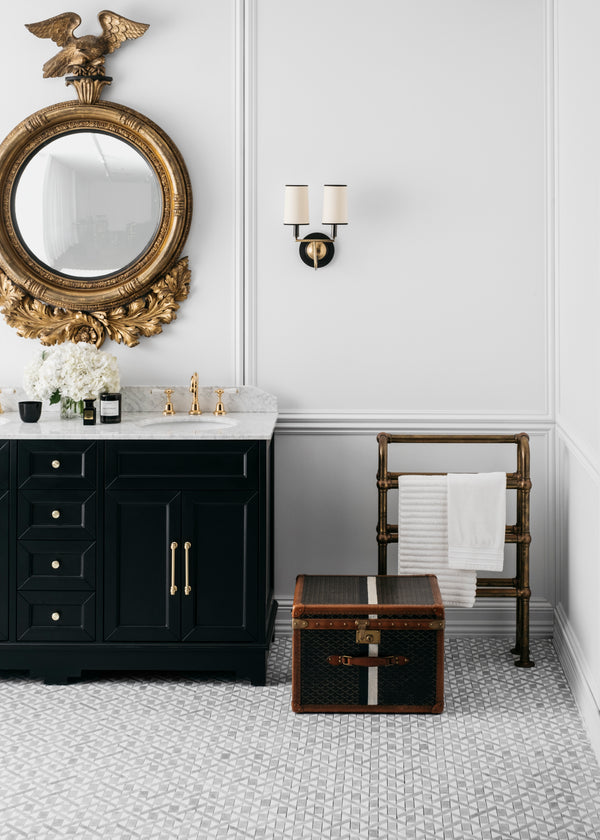 Chantel 1500 Double Black Vanity Style Bathroom