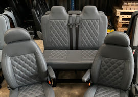 M1 tested bed and single swivel seats