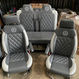 3/4 M1 bed and matching single swivel seats