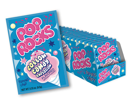 POP ROCKS COTTON CANDY  (24 UNITS)