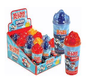 KOKO SLUSH PUPPIE SPRAY CANDY 12 UNITS