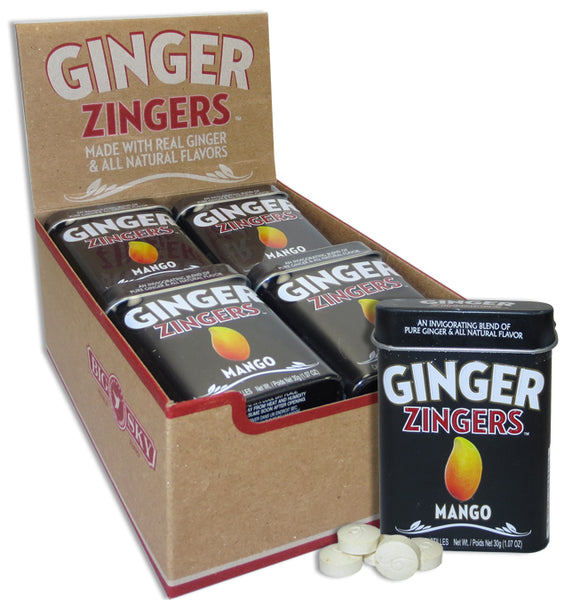 GINGER DELIGHTS TIN - MANGO X 12 UNITS