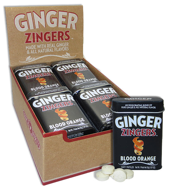 GINGER DELIGHTS TIN - BLOOD ORANGE X 12 UNITS