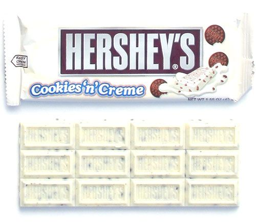 HERSHEY'S COOKIES AND CREAM STANDARD SIZE 36 UNITS