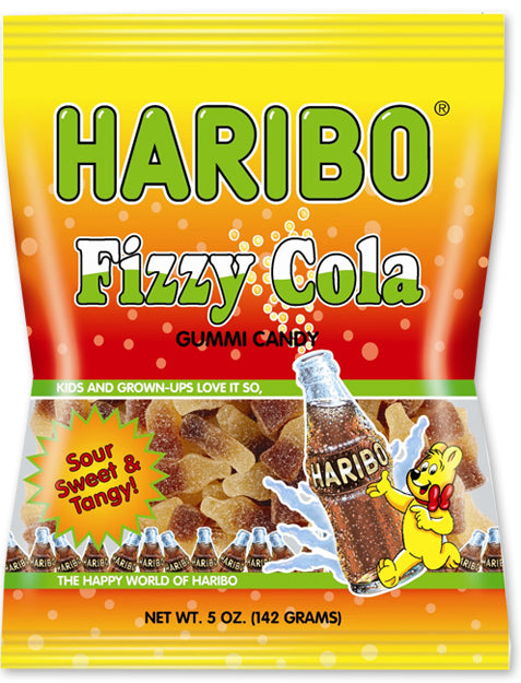 HARIBO FIZZY COLA 5 OZ X 12 UNITS