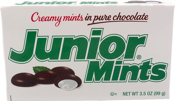 THEATER BOX JUNIOR MINTS 4 OZ BOX (X12 UNITS)