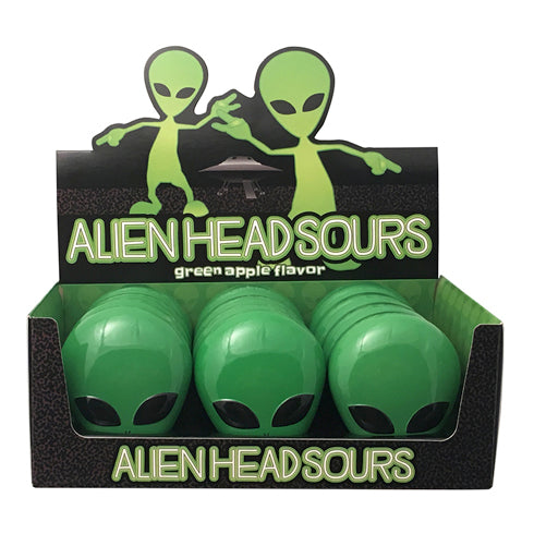 BOSTON AMERICA - ALIEN HEAD SOURS X 12 UNITS
