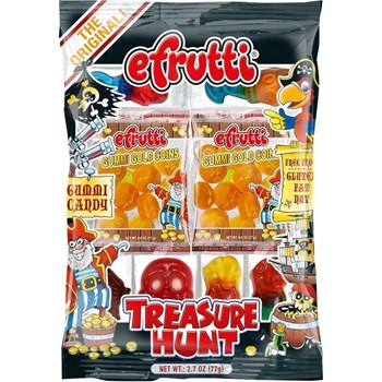 EFRUTTI TREASURE HUNT PEG BAG X 12 UNITS