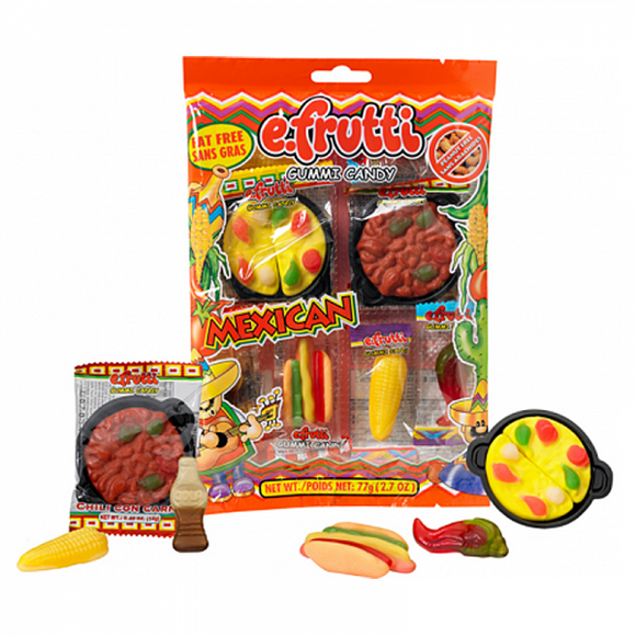 EFRUTTI MEXICAN DINNER PEG BAG X 12 UNITS