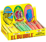 EL BUBBLE I ORIG BUBBLE GUM CIGARS 36 UNITS