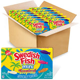 THEATER BOX - SWEDISH FISH - MINI TROPICAL X 12 UNITS