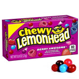 THEATER BOX CHEWY LEMONHEAD - BERRY AWESOME 142G X 12 UNITS