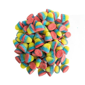 BULK - VIDAL RAINBOW TROPICAL DROP GUMMIES  X 1.2 KG