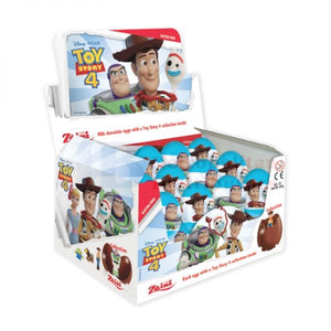 ZAINI TOY STORY 4 MILK CHOCOLATE EGGS 20G X 24 UNITS